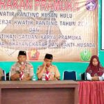 Hadi Raharjo Lantik Satuan Karya Wirakartika di Kusan Hulu
