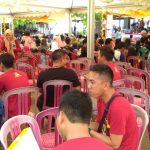 Sebanyak 1200 Peserta Ramaikan Reuni Akbar SMKN 1 Simpang Empat angkatan 2003-2019
